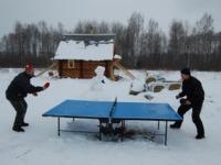 Теннис зимой