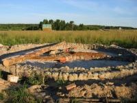 Строительство саманного дома в Родном 2004г Rodnoe.info