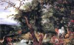 """Картина Яна Брейгеля """"Рай"""""""