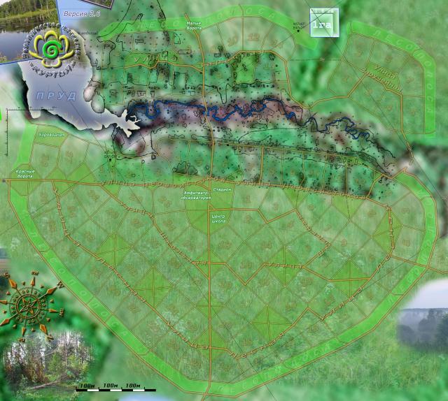 Схема поселения