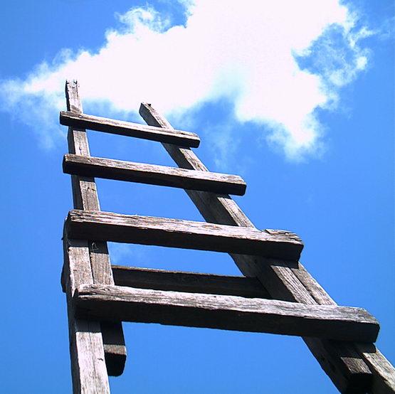 Как сделать длинную лестницу